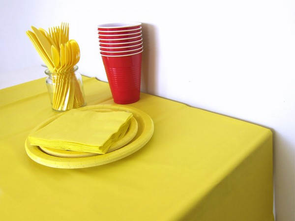 Plastic Table Cover, Whatever Party (Pack of 1)